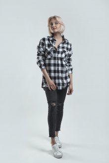Košile Grey-Black