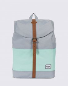 Herschel Supply Post Mid-Volume Quarry/Yucca/Tan Synthetic Leather