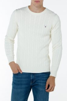 Svetr GANT COTTON CABLE CREW