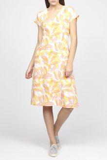 Šaty GANT O2. AIRY LEAF DRESS