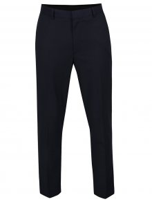 Tmavě modré oblekové skinny kalhoty Burton Menswear London