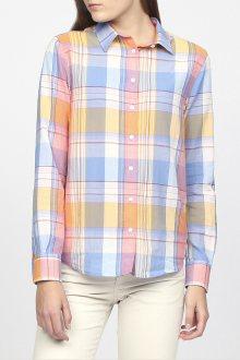 Košile GANT O2. VOILE MADRAS SHIRT