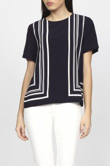 Košile GANT O1. BORDER STRIPED TOP