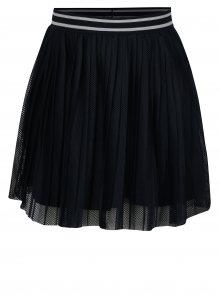 Tmavě modrá holčičí plisovaná sukně name it Iwtex