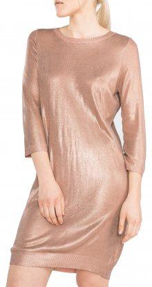 Gustine Šaty Vero Moda | Zlatá Béžová | Dámské | XS