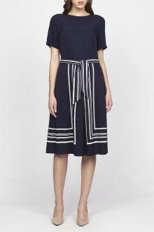 Šaty GANT O1. BORDER STRIPE DRESS