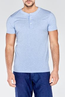 Tričko HENLEY SHORT SLEEVED T-SHIRT