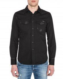 Košile Replay   Černá   Pánské   S