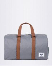 Herschel Supply Novel Grey/Tan Synthetic Leather