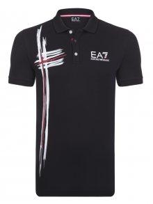 Černo-bílá luxusní polokošile od Emporio Armani Size: S