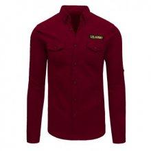 Pánská košile červená