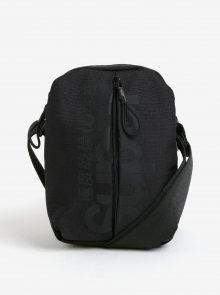 Černá pánská crossbody taška Superdry