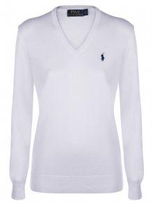 Bílo-černý prémiový svetr od Ralph Lauren Size: M