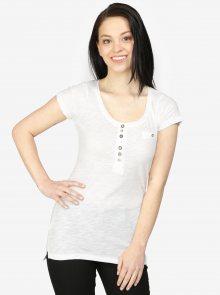Bílé tričko s krátkým rukávem Haily\'s Edda