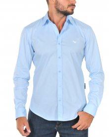 Světle modrá prémiová košile od Emporio Armani Size: S