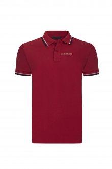 Červená luxusní polokošile od Prada Velikost: L