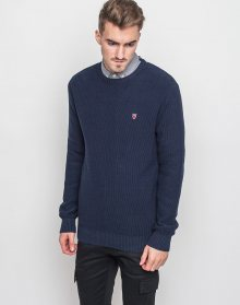 Knowledge Cotton Basic Knit 1001 Total Eclipse M