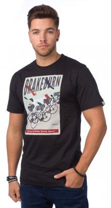 Brakeburn Pánské tričko BBMSST002018F15_aw15 černá\n\n