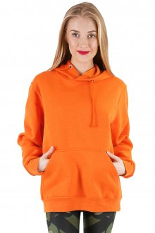 Mikina s kapucí Basic Orange