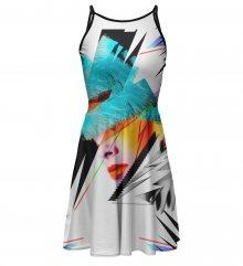 Šaty Hion barevné M
