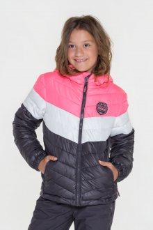 Sam 73 Dívčí bunda na zip Sam 73 fialová tmavá 116