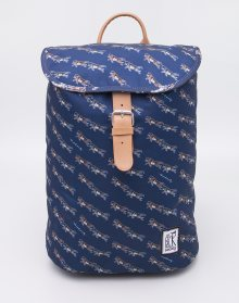 The Pack Society Small Dark Blue Wolf Allover