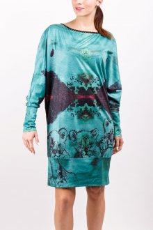 Culito from Spain zelené šaty Tres Leones  - XS