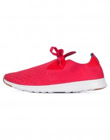 Native Apollo Moc Torch Red/ Shell White/ Nat Rubber 44
