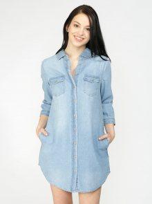 Modré košilové šaty Haily\'s Frieda