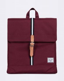 Herschel Supply City Mid-Volume Windsor Wine/Veggie Tan Leather