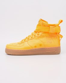 Sneakers - tenisky Nike SF Air Force 1 Mid Laser Orange / Laser Orange - Gum Med Brown