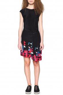 Desigual černé asymetrické šaty Nicolas  - 36