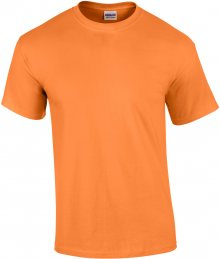 Tričko Gildan Ultra - mandarinková S
