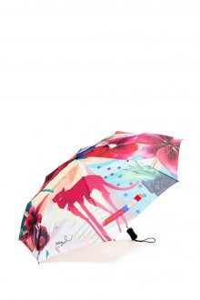 Desigual barevný deštník Crhystal Gogo