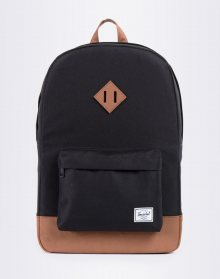 Herschel Supply Heritage Black/Tan Synthetic Leather