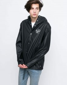 Herschel Supply Forecast Hooded Black/White Classic Logo L