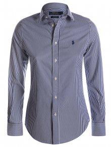 Bílo-modrá prémiová košile od Ralph Lauren Velikost: L