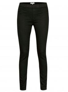Černé super soft jeggings s vysokým pasem Dorothy Perkins