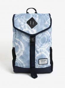 Modrý vzorovaný batoh s klopou Burton Westfall 23 l