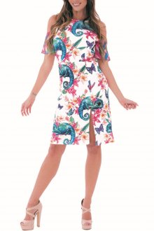 Culito from Spain barevné šaty Camaleon
