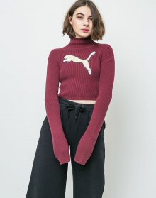 Puma Fenty Loose Turtleneck Tawny Port M