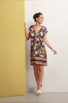 Deha barevné stylové šaty