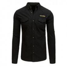 Pánská černá košile