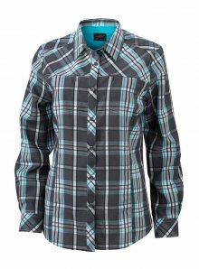 Dámská košile Trekking - Karbonová a modrá XS