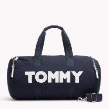 Tommy Hilfiger tmavě modrá sportovní taška Tommy Nylon Duffle