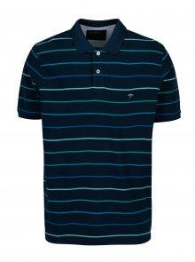Tmavě modré pruhované polo tričko Fynch-Hatton