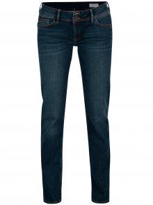 Tmavě modré dámské slim fit džíny s nízkým pasem Cross Jeans