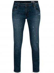 Tmavě modré sraight dámské džíny Cross Jeans