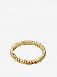 Pozlacený prstýnek ve zlaté barvě Pilgrim Kylie
