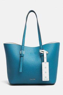 Calvin Klein modrá multifunkční kabelka CK Zone Medium Shopp